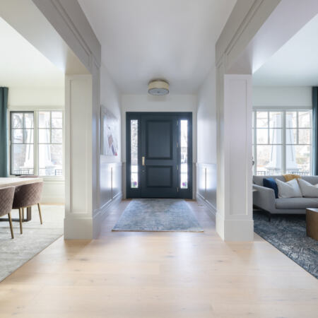 Carleton Residence Entryway