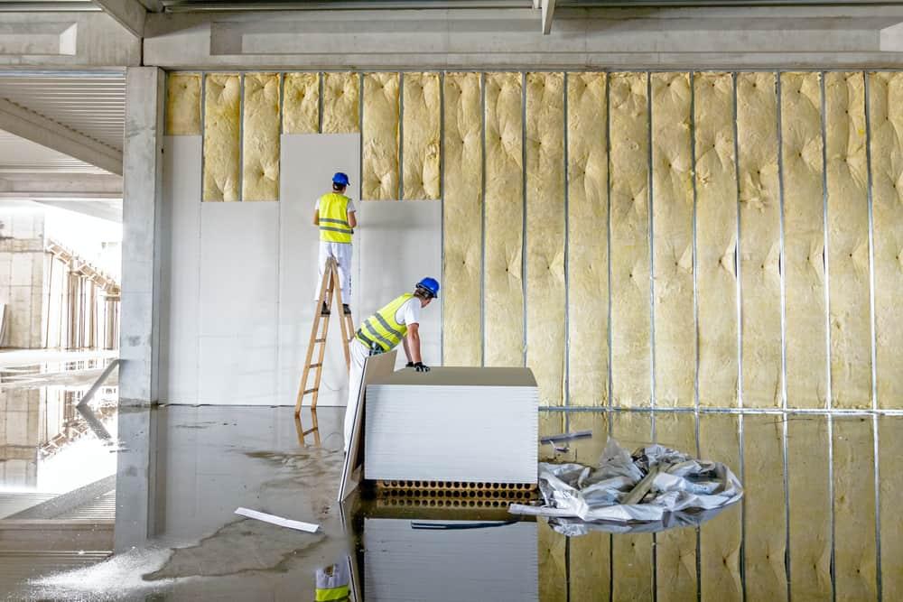 Drywall paneling